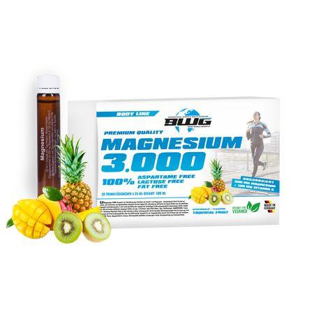 BWG - MAGNESIUM 3.000 mit Vitamin C, 20x 25 ml