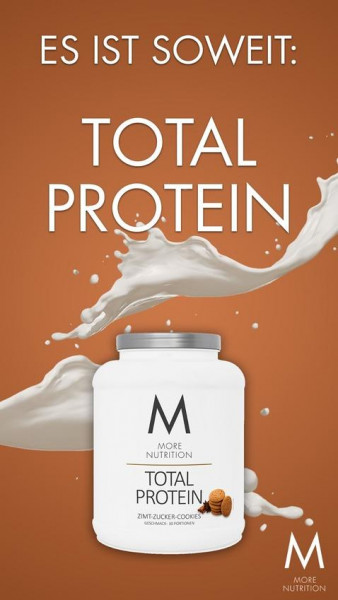 More Nutrition Total Protein, 600 g Dose