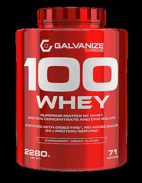 Galvanize Nutrition - 100 WHEY, 2280 g