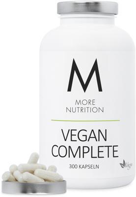 More Nutrition Vegan Complete, 300 Kapseln