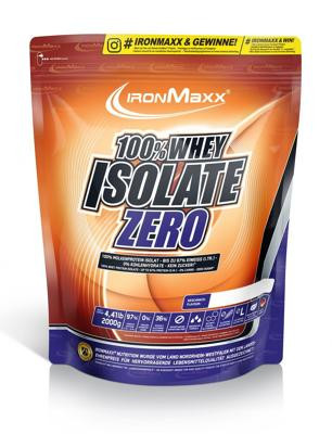 IronMaxx - 100% WHEY ISOLATE ZERO, 2000 g