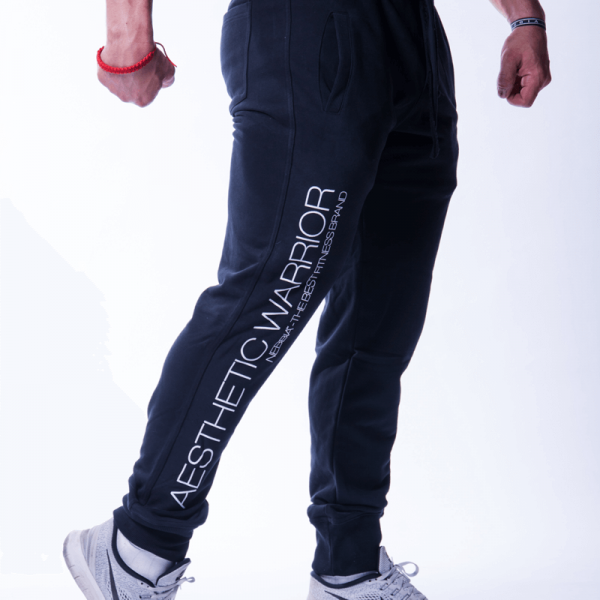 NEBBIA - AESTHETIC WARRIOR PANTS N718 SCHWARZ