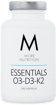 More Nutrition Essentials O3-D3-K2, 240 Kapseln