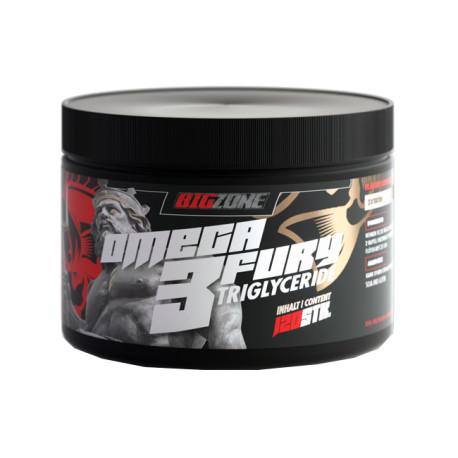Big Zone Omega 3 Fury Triglyceride 120 Kapseln