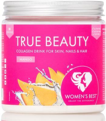 Womens Best True Beauty Collagen Drink, 300 g Dose, Mango