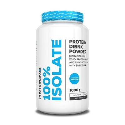 Protein.Buzz - 100% ISOLATE, 1000 g, 2000 g