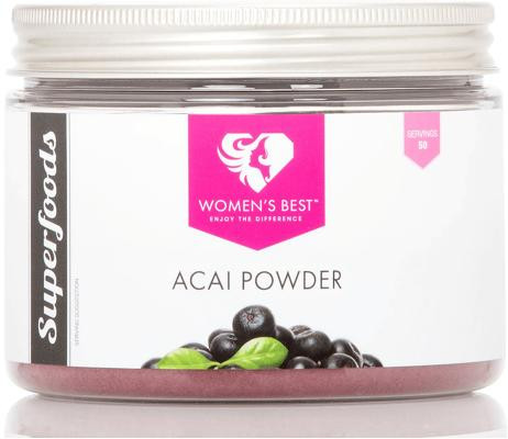 Womens Best Acai Powder, 200 g Dose