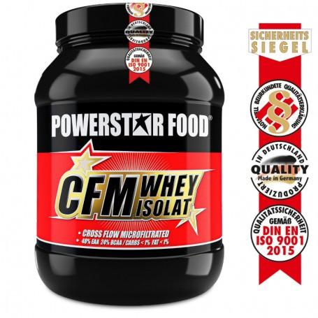 Powerstarfood CFM WHEY ISOLAT - Whey Protein Isolate - 1000 g