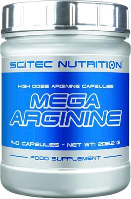 Scitec Nutrition - MEGA ARGININE, 140 Kaps.