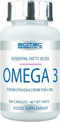 Scitec Essentials Omega 3, 100 Kapseln Dose