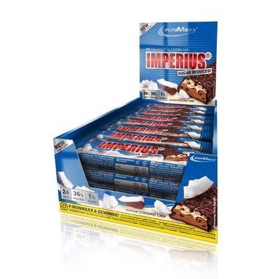 IronMaxx Imperius Sugar Reduced Protein Bar - 24x 45g