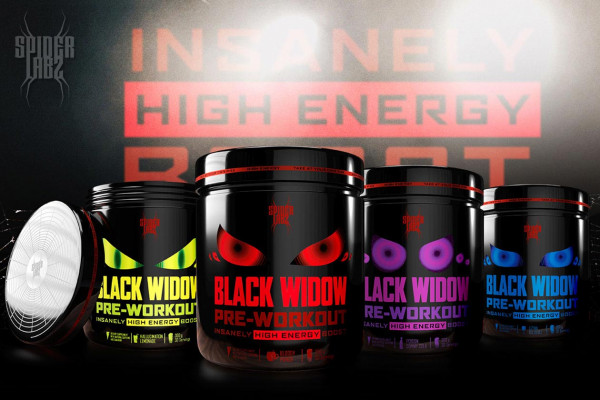 Spider Labz - Black Widow Booster - 300g