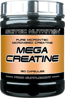 Scitec Nutrition Mega Creatine, 150 Kapseln Dose