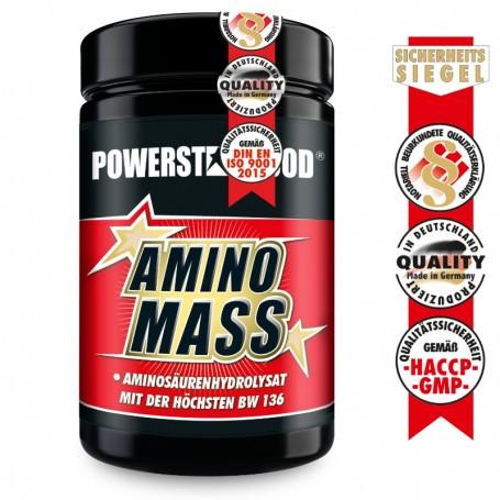 Powerstarfood AMINO MASS - Aminosäuren Komplex - 500 Tabletten