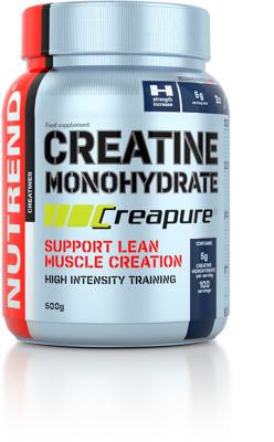 Nutrend - CREATIN MONOHYDRATE, Creapure®, 500 g