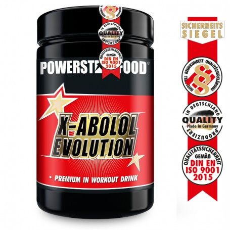 Powerstarfood X-ABOLOL EVOLUTION - In Workout Whey & Aminosäuren Komplex - 600 g