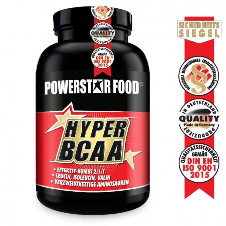 Powerstarfood HYPER BCAA - 2:1:1 - 120 Tabletten