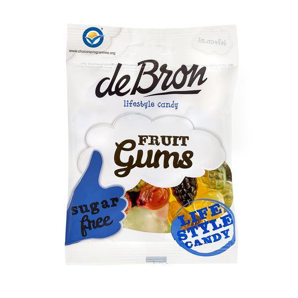 DE BRON - Frucht Gummi - 100g