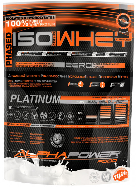ALPHAPOWER FOOD: 5S CFM ISOWHEY 1.000 g