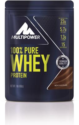 Multipower 100% Pure Whey, 450 g Beutel