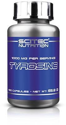 Scitec Nutrition Tyrosine, 100 Kapseln Dose