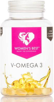 Womens Best V-Omega 3, 90 Kapseln