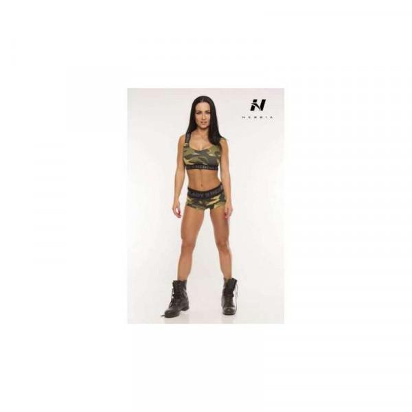 NEBBIA - Hotpants Camo 245 Green
