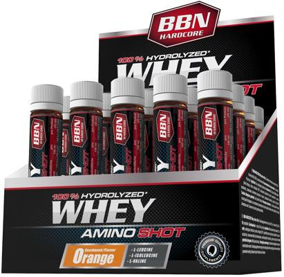 Best Body Nutrition Hardcore Whey Amino Shot, 20 x 25 ml Ampullen