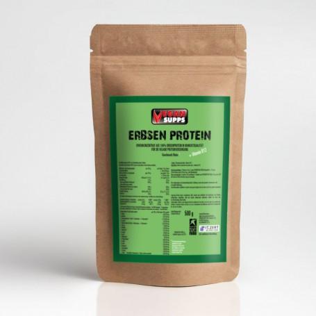 Powerstarfood PEA PURE PROTEIN - Erbsenprotein - 500 g Pulver