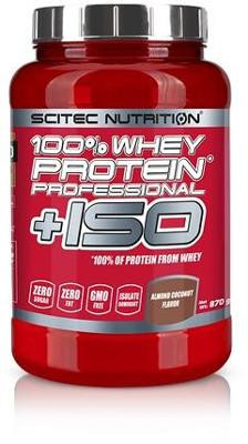 Scitec Nutrition 100% Whey Protein Professional +ISO, 870g