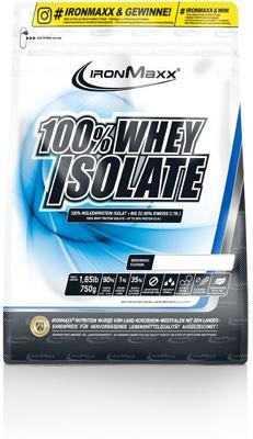 IronMaxx - 100% WHEY ISOLATE, 750 g