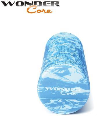 Wonder Core Foam Roller, 90 cm (Farbe: Blue Marble)