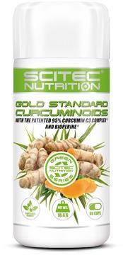 Scitec Nutrition Gold Standard Curcuminoids, 60 Kapseln Dose