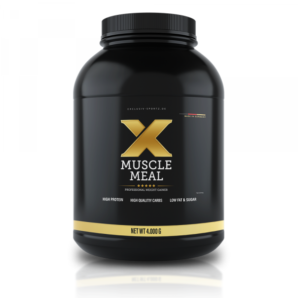 Exclusiv Sportz - X-MUSCLE MEAL, 4000G