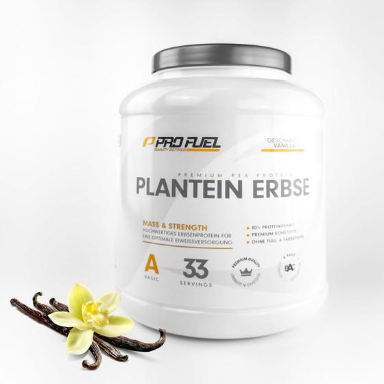 ProFuel - PLANTEIN ERBSE, 100% Vegan, 1000 g