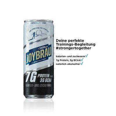Joybräu - Proteinbier Light 12x330ml incl. 12x 0,25€ Pfand