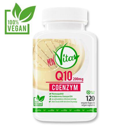 MeinVita Q10 Coenzym 120 vegane Kapseln
