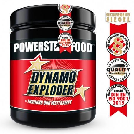 Powerstarfood DYNAMO EXPLODER - Pre Workout Booster - 500 g