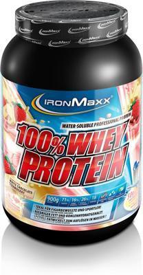 Ironmaxx - 100% Whey Protein - 900 g Dose