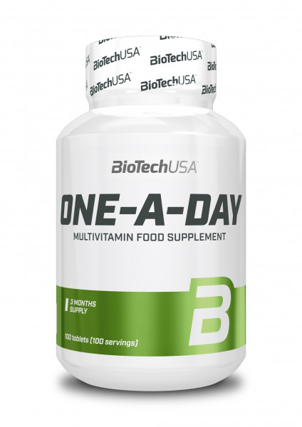 Biotech USA One-a-Day, 100 Tabletten Dose
