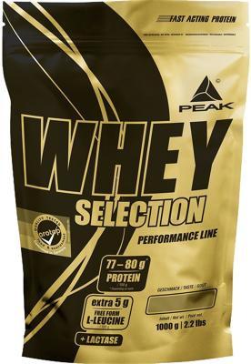 Peak - WHEY SELECTION, 1000 g