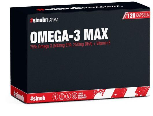 BlackLine 2.0 Omega 3 MAX, 120 Kapseln