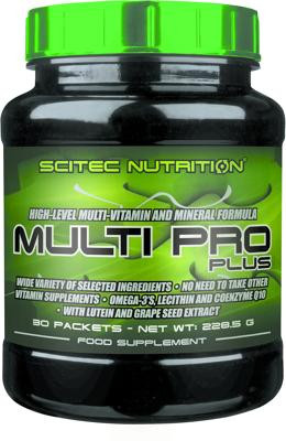Scitec Nutrition Multi Pro Plus, 30 Pakete a 6 Kapseln-Copy