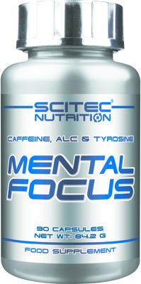 Scitec Nutrition - MENTAL FOCUS, 90 Kaps.