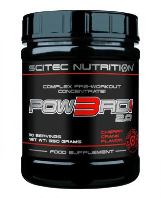 Scitec Nutrition Pow3rd 2.0, 350 g Dose