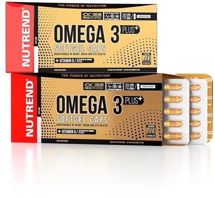 Nutrend - OMEGA 3 PLUS, Softgel Caps, 120 Kaps.