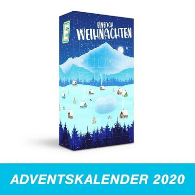 Energy Cake Adventkalender 2020 (25x125g)