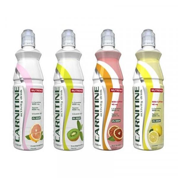 Nutrend - ACTIVITY, L-Carnitine Drink, 8x 750ml