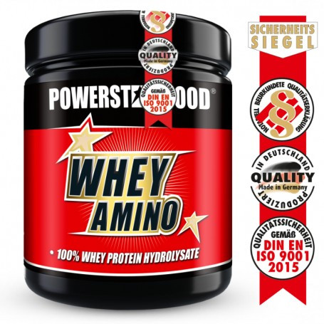 Powerstarfood WHEY AMINO - 100% Whey Hydrolysat - 500 Tabletten