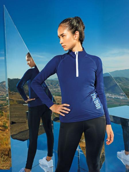 Women's TriDri® performance ¼ zip